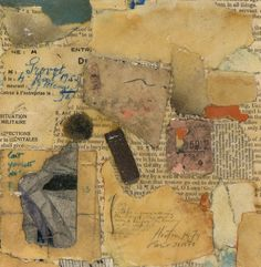 Untitled (260) 1979 Collage on Paper 7 x 6 3/4 inches...Rick Horton Collages