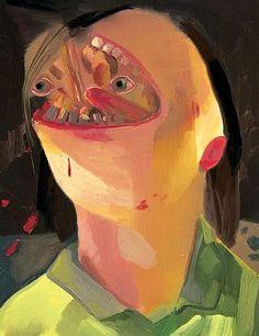 Face-Eater . Dana Shutz //
