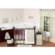 Sweet Jojo Designs Green Dragonfly Dreams Collection 11-Piece Crib Bedding Set