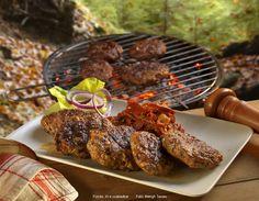 Food 52, Tandoori Chicken, Hamburger, Grilling, Pork, Ethnic Recipes, Pork Roulade, Crickets, Pigs