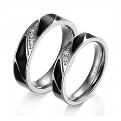 Deepest Love Rings For Couples Affordable Lover Rings(Price For a Pair) - USD $48.95