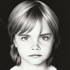 Las fotos más tiernas de Cara Delevingne de niña