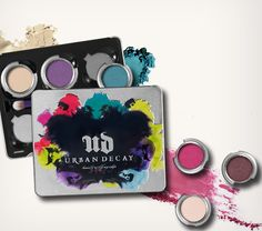 Pick from 68 of Urban Decay's reformulated, longer-lasting eye shadows and build the ultimate personalized palette. #Sephora #eyecandy