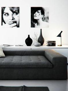 Interior design ideas and trends 2016 black white minimalist