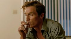 New party member! Tags: smoking true detective matthew mcconaughey rust cohle