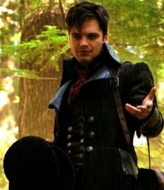 Jefferson, better know as the Mad Hatter.  ABC's Once Upon a time Played by Sebastian Stan <3