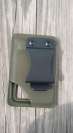 The Original IMOD Tactical Kydex Wallet (Individual Monetary Organizing Device)