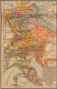 """Germany and Italy in 1803"": yet, neither country existed as such at that time, both achieving unity and statehood in the second half of the century."