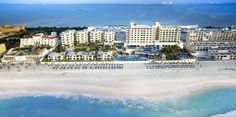 Occidental Tucancún (Boulevard Kukulkan Km 13.5 Lote 24 Zona Hotelera) Directly on the beach on the northern tip of the Yucatan Peninsula, this all-inclusive hotel features an endless variety of activities, numerous dining options and easy access to area attractions. #bestworldhotels #hotel #hotels #travel #mx #cancun