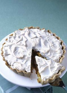 Try a twist on the classic lemon meringue pie with this gooseberry version. The sharpness of the berries makes the taste beautifully tart.