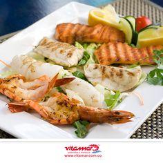 Los mejores productos de pescados y mariscos en tu mesa www.vitamar.com.co