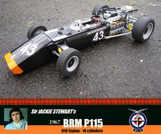 BRM P115 16 cylinders Lego 1:8 Scale