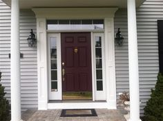 Front Doors Entry Door With Sidelights And Doors On Pinterest