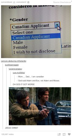 """""""God said Adam and Eve, not Adam and Moose."""" How did we have a freaking gif for that???"""