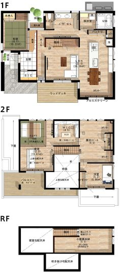 Sims House Plans, House Layout Plans, House Layouts, Japan House Design, Interior Architecture Drawing, Sims 4 Houses, 3d Home, Gaudi, Interior And Exterior