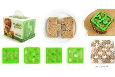 Puzzle Sandwich Cutters