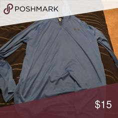 Under Armour Hoodie Shirt It's tshirt material but has a Hoodie Under Armour Shirts Tees - Long Sleeve