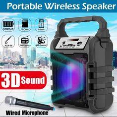 Portab|e Karaoke Speaker ^bluetooth