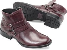 Born Womens PIRLO in Burgundy  #wewearborn