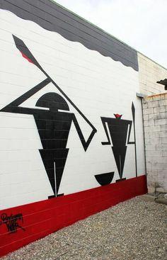 Auckland-based Tongan mixed media artist, Benjamin Work