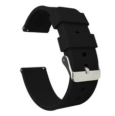 Black silicone watch straps fabricated from quality, high-tensile soft silicone rubber. Black rubber watch bands available in or lug widths online from BARTON Watch Bands. Durable Watches, Samsung Gear S2 Classic, A Gear, Rubber Watches, Casio G Shock, Black Rubber, Watch Bands, Navy Blue, Steel