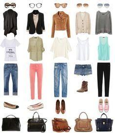 5 outfits