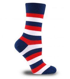 MLB Çember Desenli Soket Çorap