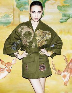 Saki Asamiya by Matt Irwin for Vogue Japan April 2013