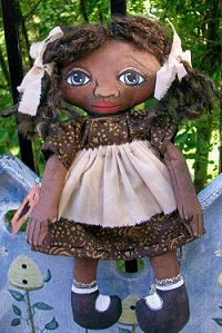 Cloth Doll Patterns by Krista Harris