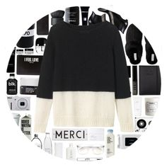 """Black & White!"" by stelbell ❤ liked on Polyvore featuring Yves Saint Laurent, Nikon, MAC Cosmetics, DKNY, Bella Freud, NARS Cosmetics, Givenchy, Nava, Korres and H&M"