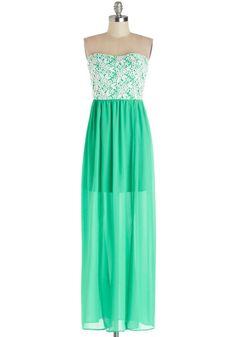 Seaside Chateau Dress, #ModCloth