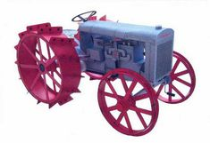 Fordson Type F Tractor Free Vehicle Paper Model Download