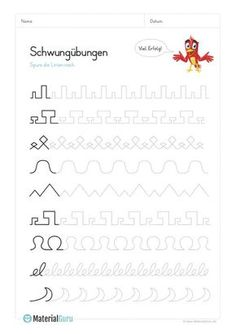 Deutsch Lernen Vorschule – Rebel Without Applause Tracing Worksheets, Preschool Worksheets, Teaching Kids, Kids Learning, Early Intervention Program, Kindergarten Portfolio, Pre Writing, Kids Behavior, Educational Programs
