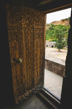 https://flic.kr/p/xUER34 | Doors as Art | Tatev Monastery, Armenia