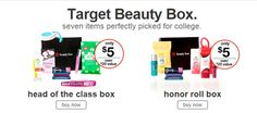Two new Target Boxes just $5.00 ea.