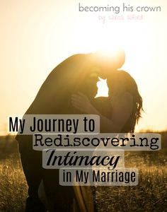 Finding joy in intimacy in marriage is something that hasn't always come easy to me! If you struggle with the same things, this post is for you! I'm sharing my struggles, getting candid, and sharing what I have learned along the way! Click through to read!