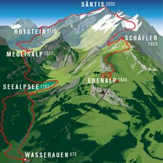 Great Places, Places To See, Places In Switzerland, Hiking Routes, Wanderlust, Need A Vacation, Countryside, National Parks, Nature