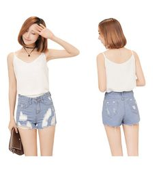 Jeans Shorts Sexy Slim Fit