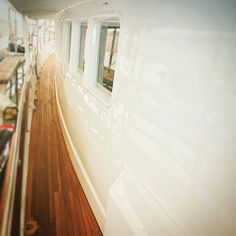 the combination of new #paintwork from BENYMAR and new #teakdeck from TEAKTOCK #igersmallorca #igersbalears #igers #yachtmanagement #refit #palmayachteye #teaktock #megayacht #superyacht #sailing #sailingyacht #amazing http://Teaktock.es http://ift.tt/2dPARq4