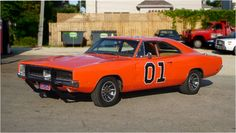 Dukes of Hazzard's General Lee - Dodge Charger (1969)...