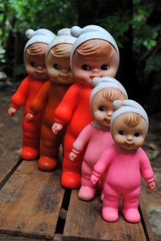 dada e dadinhas 1973 Ana Caldatto : Antiga Boneca Dadá, Dedé, Dadinha e Sinhazinha da Estrela - Vinil