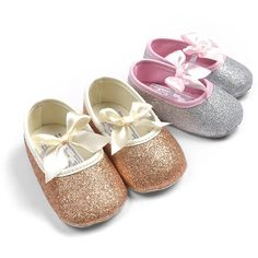 Glitter baby shoes anti-slip soft sole toddler Summer cute sneaker 0-18 months