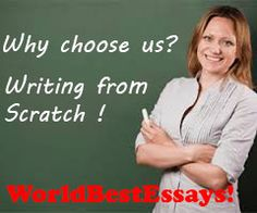 Are You Looking for Quality, Customized Papers? Do You Want Guarantees of Originality?  Then You want WorldBestEssays.com! All papers are carefully checked with se