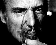 """Dennis Hopper - """"because the reality of things going on around me is more interesting than the fantasies of the world I work in""""."""