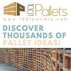 Discover all the latest pallet projects & ideas from our Crafters! Find inspiration & plans for your next DIY project out of recycled pallet wood! Table Palette, Palette Diy, Garage House, Recycled Pallets, Wooden Pallets, Pallet Projects Signs, Pallet Ideas, Pallet Bar, Pallet Crafts