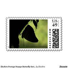 EkoArts Postage Stamps Butterfly Series