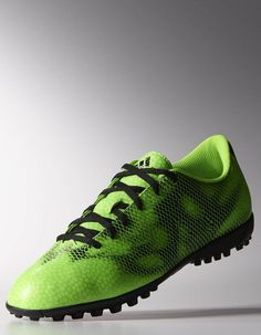 the latest a1386 71dcd Football boots shoes Adidas Cleats Green F5 Turf Trainers Men 2015.