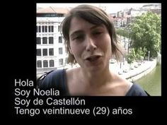 Learn Spanish - PRESENTARSE ( Introduce yourself) - YouTube