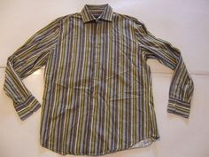 INC International Concepts Men's Shirts Size-M Green Very Good!  #INCInternationalConcepts #ButtonFront