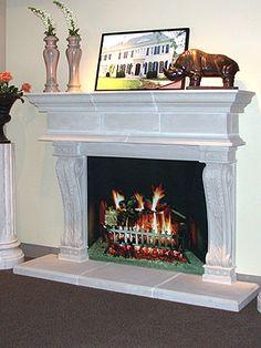 Stone Magic - Fireplace Designs  longleaf /1500-3000